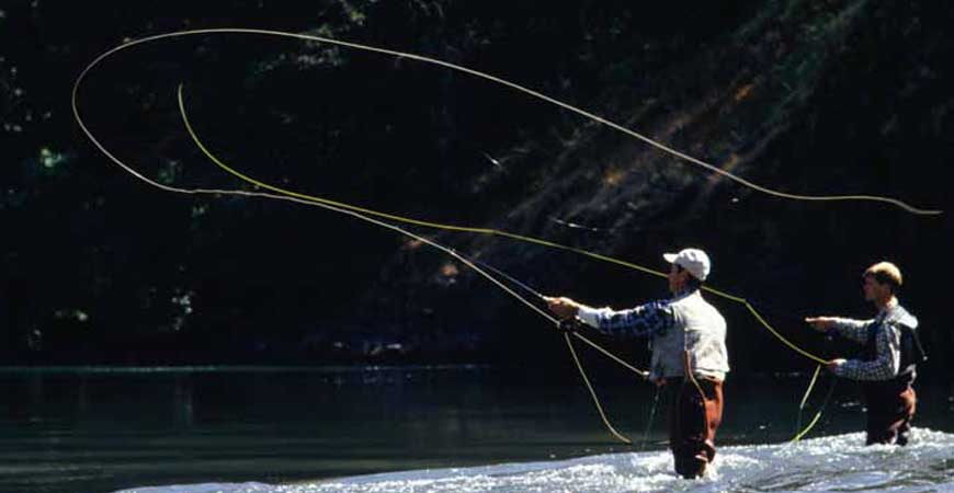 Fly fishing lessons northern ireland for Fly fishing classes